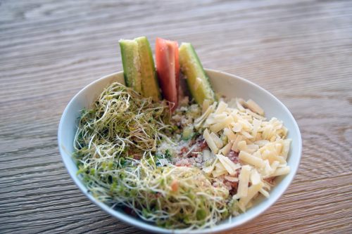 MANSA SALAD + CHEESE